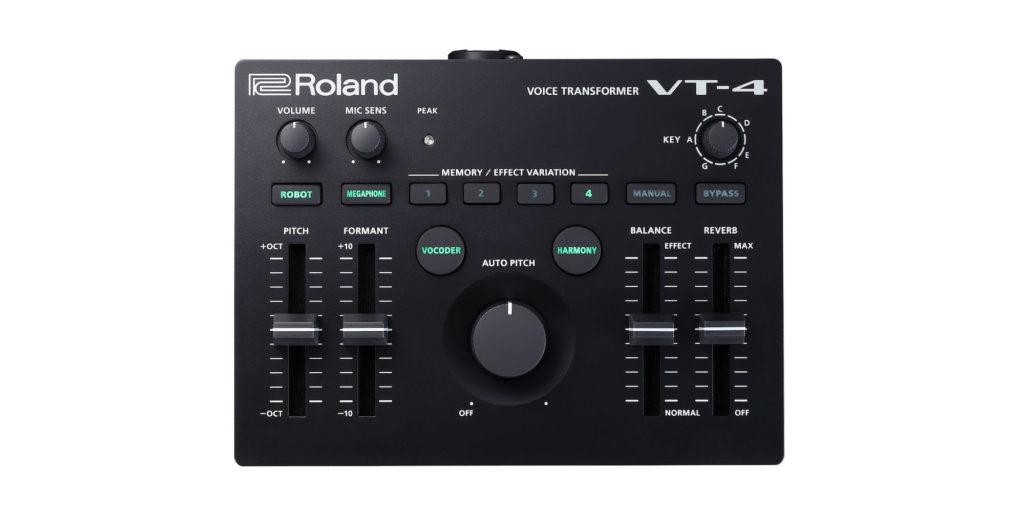 Roland VT-4 fx effetti processore hardware voce vox