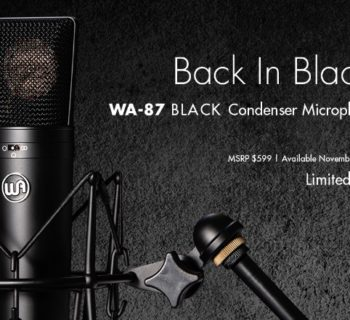Warm Audio WA-87 black edition