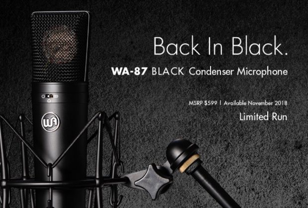 Warm Audio WA-87 black edition