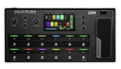 headrush Eleven HD Expanded pedaliera strumenti musicali