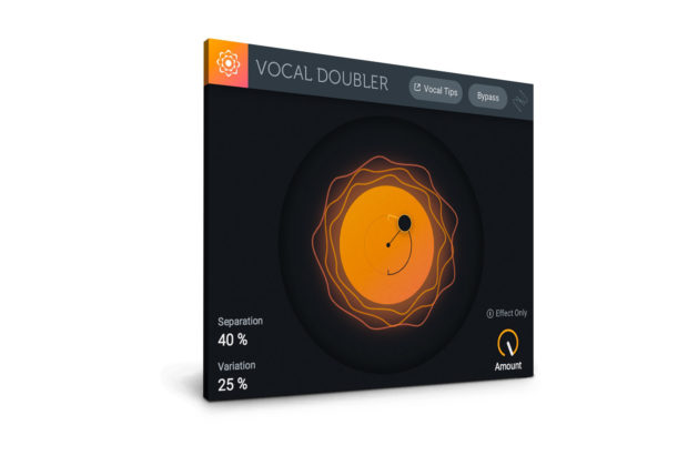 iZotope Vocal Doubler freeware plug-in audio daw virtual mix fx