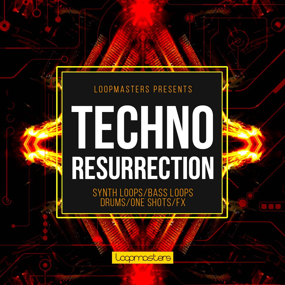 loopmasters Techno Resurrection loopcloud sample library loop
