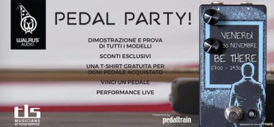 pedal train pedal party chitarra elettrica eventi luca rossi