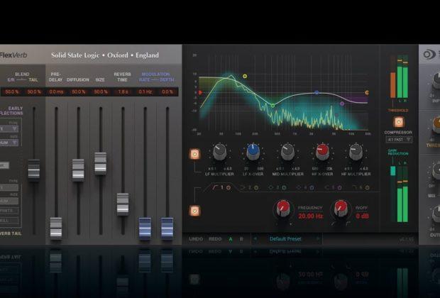 SSL Native FlexVerb plug-in audio reverb