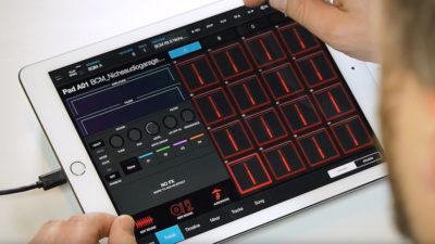 AKAI iMPC Pro 2 app smartphone drums virtual
