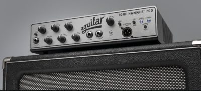 Aguilar Tone Hammer 700 amp bass eko music group head