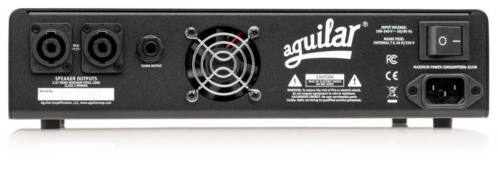 Aguilar Tone Hammer 700 amp bass eko music group head