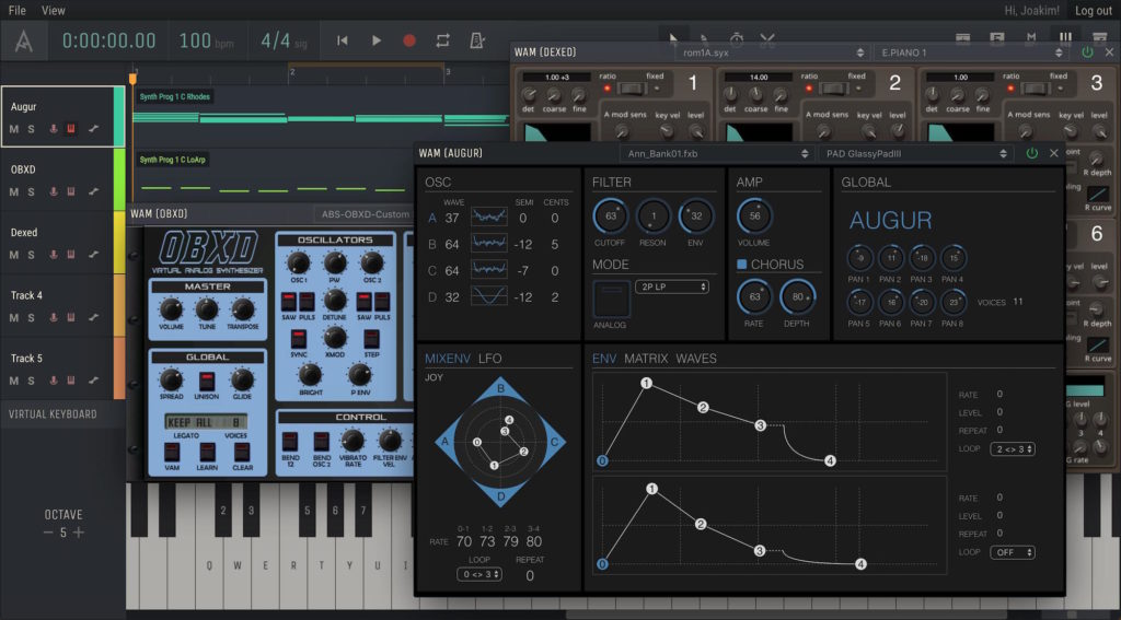 Amped Studio 2 recording daw software home studio pro audio