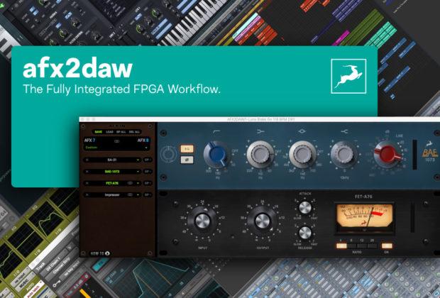 antelope afx2daw daw software plug-in audio