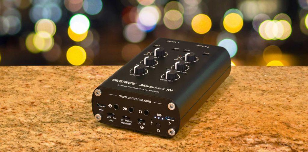 CEntrance MixerFace R4 mixer interfaccia audio mobile device