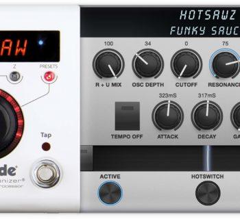 Eventide H9 HotSawz pedali stompbox chitarra elettrica synth mono