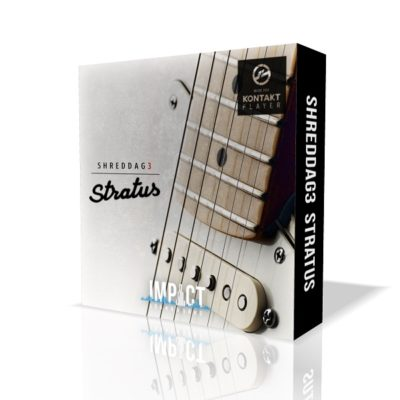Impact Soundworks Shreddage Stratus virtual instrument strato elettrica chitarra