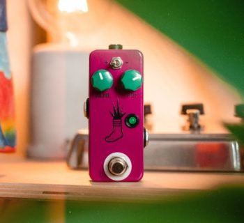 JHS Mini Foot Fuzz V2 stompbox pedalini overdrive chitarra