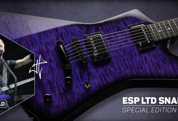 LTD Snakebyte SE Baritone chitarra elettrica esp james hetfield metallica