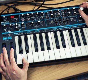 Novation Bass Station II synth update hardware update firmware
