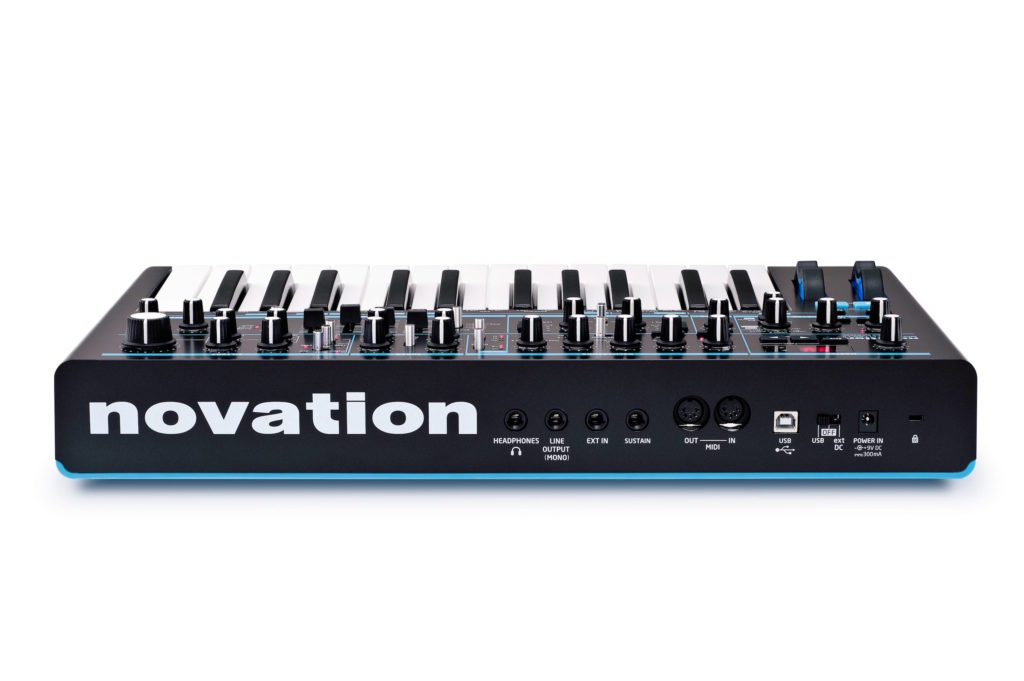 Novation Bass Station II synth update hardware update firmware