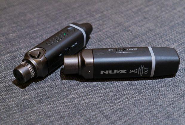 Nux B-3 wireless mic live frenexport
