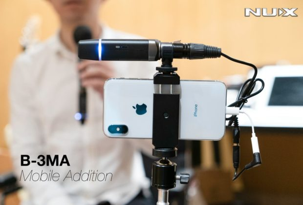 Nux B-3MA wireless mic live frenexport