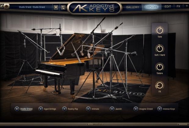 m-audio XLN audio virtual instrument controller midi