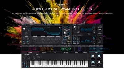 strumenti musicali arturia pigments virtual instrument synth