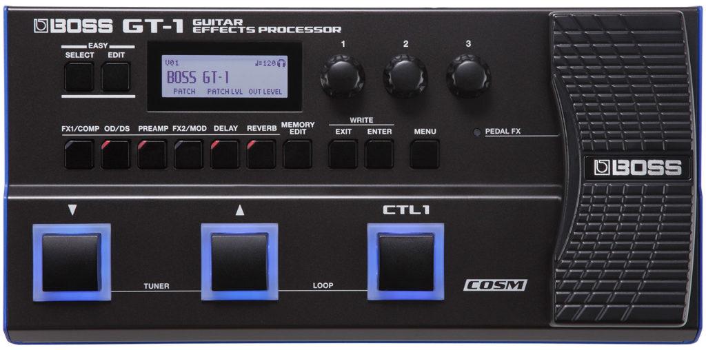 Boss GT-1 chitarra elettrica pedaliera fx multieffetto