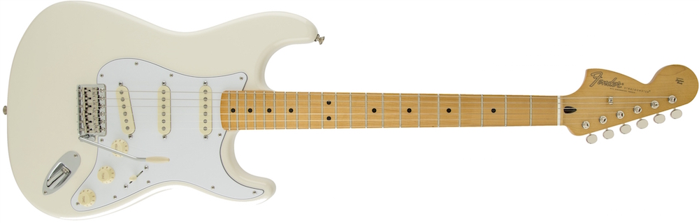 Fender Jimi Hendrix Stratocaster olympic white chitarra elettrica signature