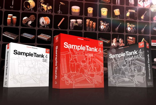 Ik Multimedia SampleTank 4 virtual instrument sample library
