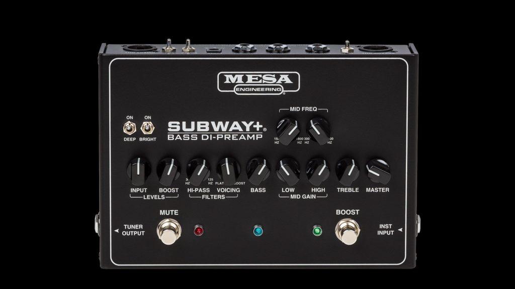 MESA/Boogie Subway Plus D.I. preamp bass