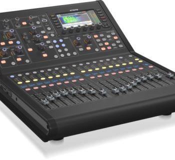 Midas M32R live mixer banco outboard hardware digital