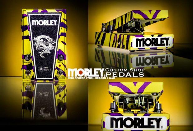 Morley Mini George Lynch Dragon 2 Wah chitarra elettrica pedale pedalini stomp