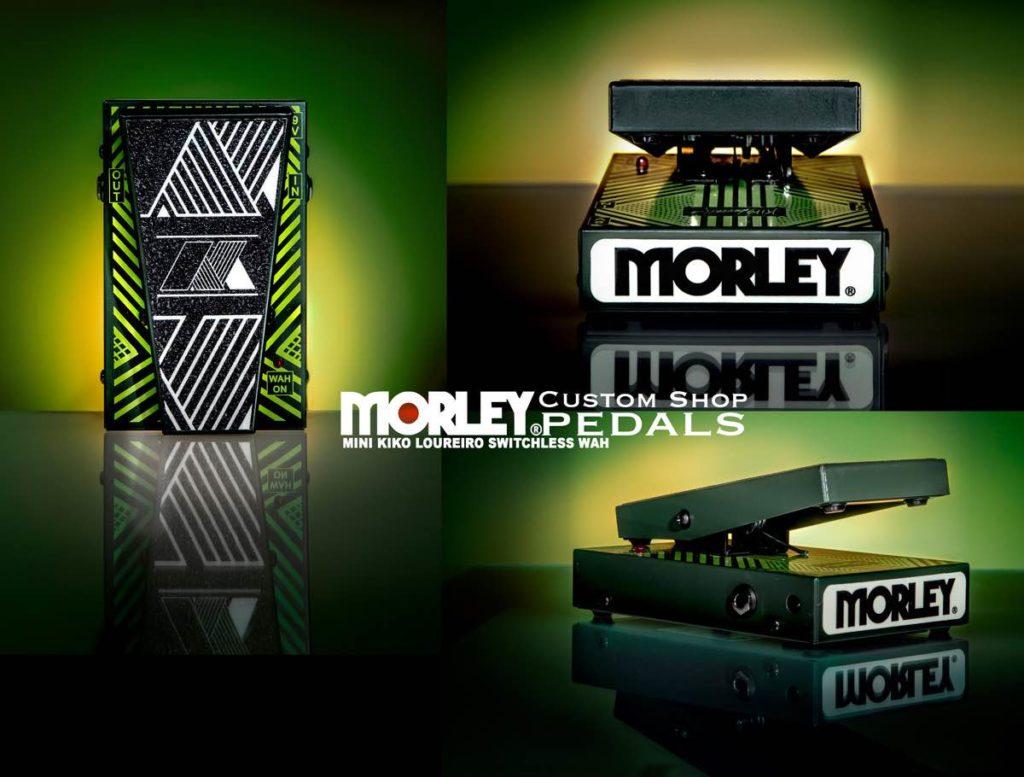Morley Mini Kiko Loureiro Switchless Wah chitarra elettrica pedale pedalini stomp