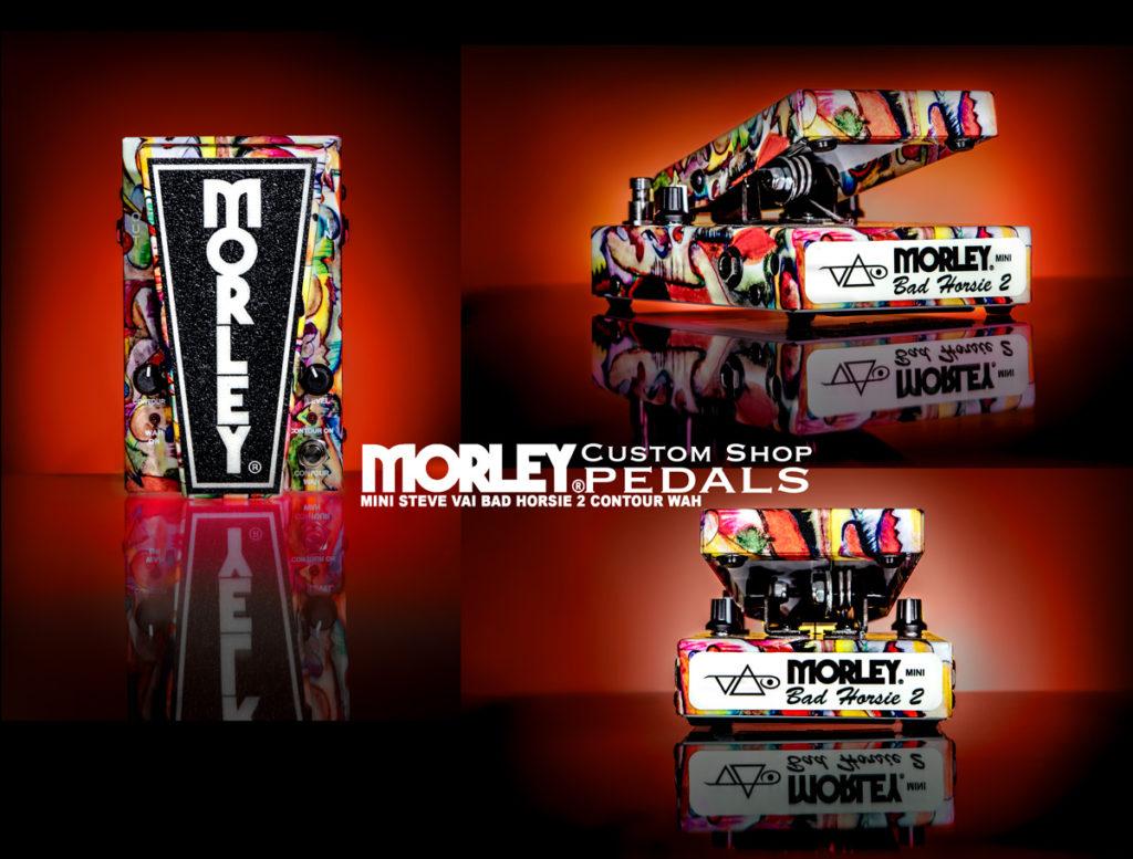 Morley Mini Steve Vai Bad Horsie 2 Contour Wah chitarra elettrica pedale pedalini stomp