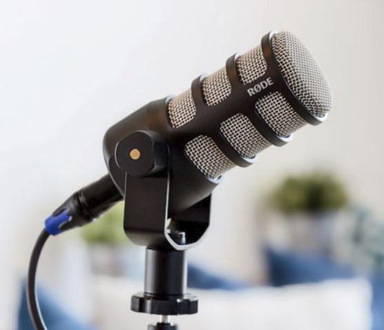 Røde PodMic broadcast microfono mic midi music strumenti musicali