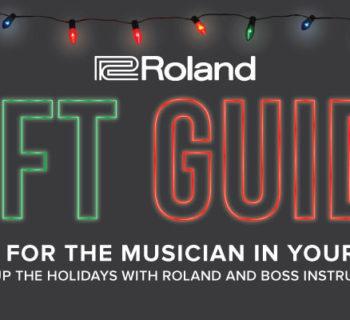 strumenti musicali Roland Holiday Gift Guide 2018 chitarra dj tastiera