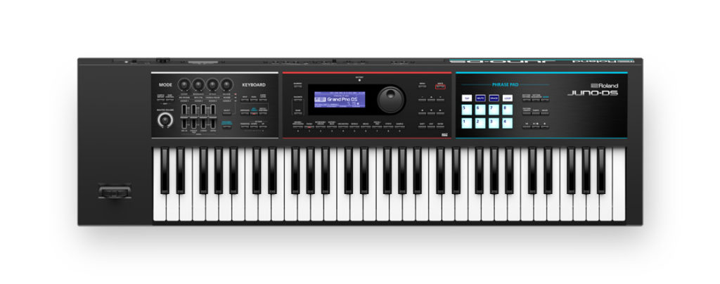 Roland Juno DS61 synth hardware