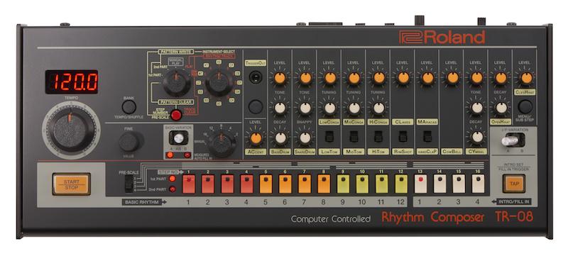 Roland TR-08 drum machine producer dj