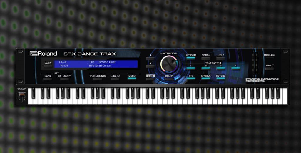 RolandCloud SRX Dance Trax virtual instrument