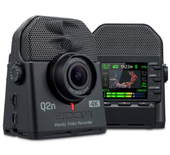 Zoom Q2n 4K video videocamera music live audio