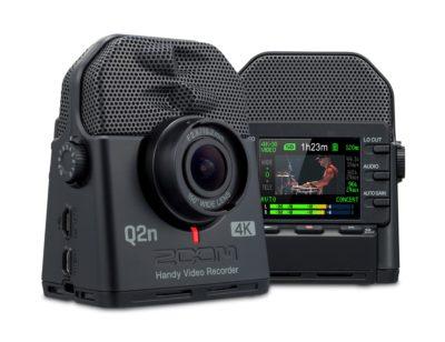 Zoom Q2n 4K video videocamera music live audio