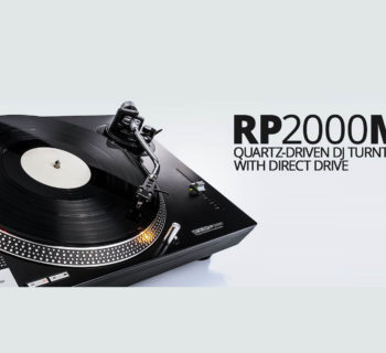 reloop rp-2000 mkII giradischi turntable dj producer live performance