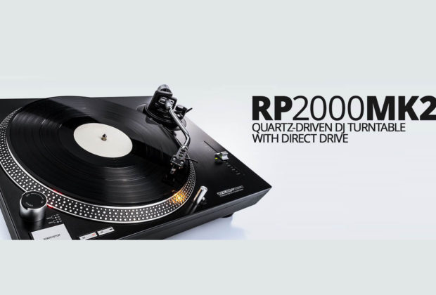 reloop rp-2000 mkII giradischi turntable dj producer live performance