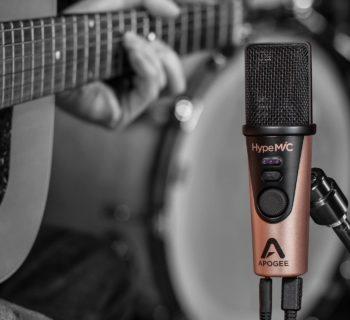 Apogee HypeMiC mic rec live audio per video soundwave strumenti musicali