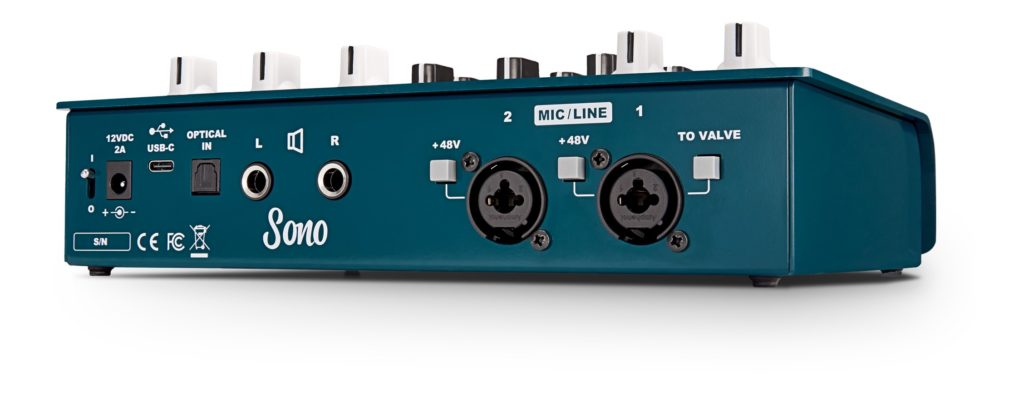 Audient Sono interfaccia audio chitarra recording studio live tube valvola strumenti musicali