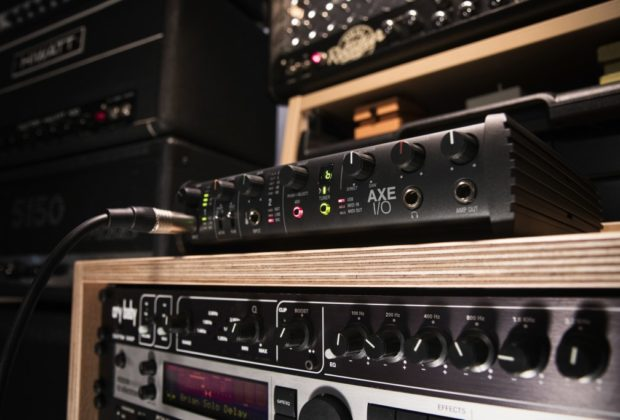 Ik Multimedia Axe I/O chitarra interfaccia audio elettrica strumenti musicali