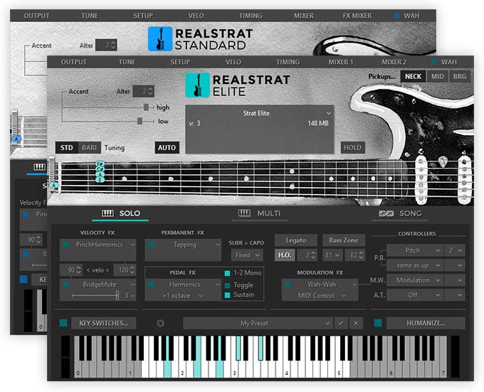 Musiclab RealStrat 5 strumenti musicali chitarra fx virtual