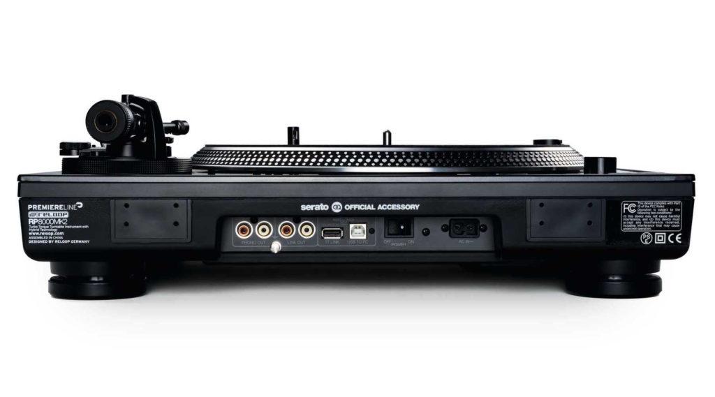 Reloop RP-8000 MK2 giradischi turntable dj live pro soundwave strumenti musicali