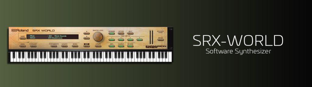 Roland SRX World rolandcloud software virtual instrument strumenti musicali