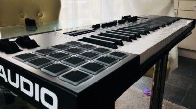 m-audio code controller midi soundwave strumenti musicali