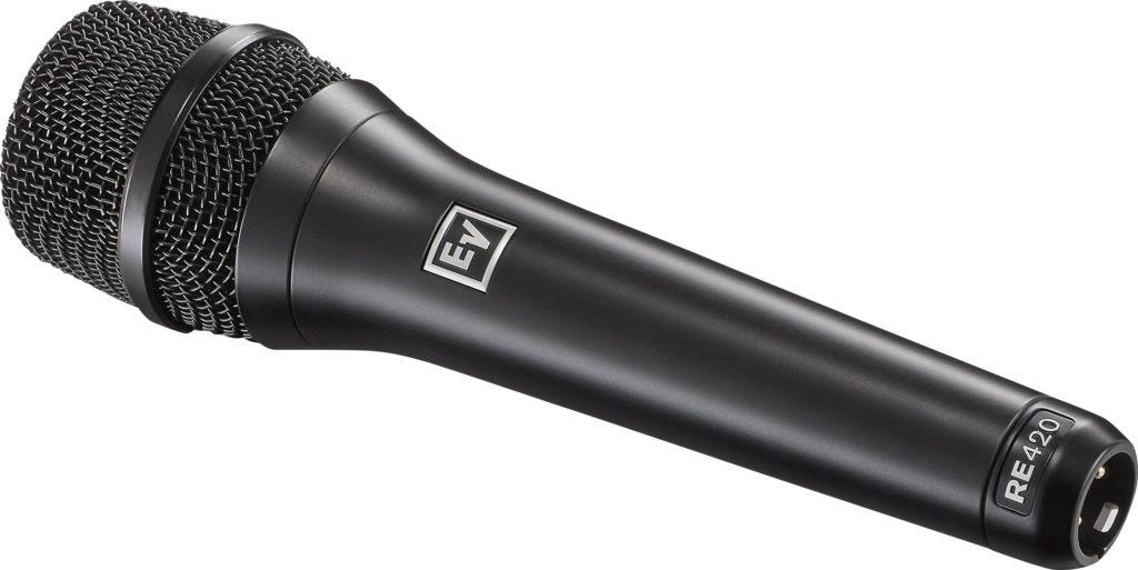 ElectroVoice RE420 mic cardioide condenser condensatore texim live audio pro strumenti musicali