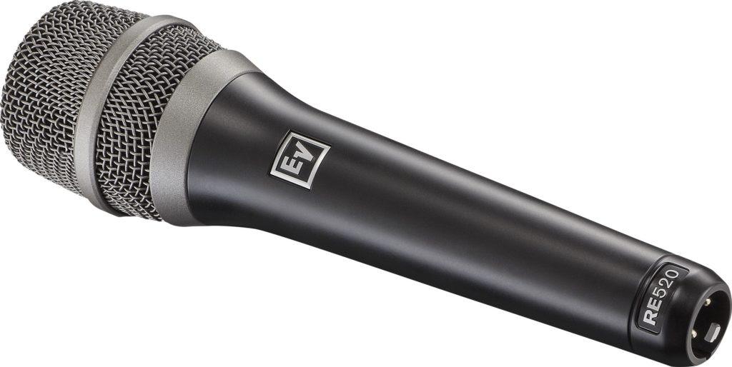 ElectroVoice RE520 mic cardioide condenser condensatore texim live audio pro strumenti musicali